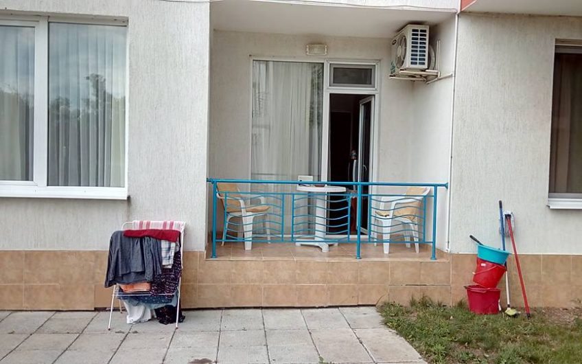 A 1 bed fully furnished ground floor apartment with balcony