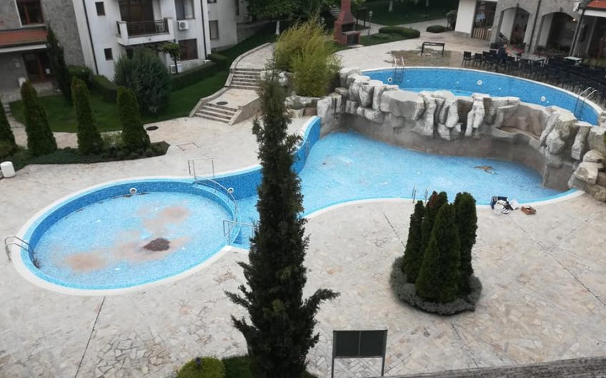 A 3rd floor fully furnished studio apartment at the vineyards luxury spa resort