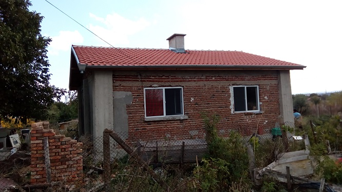 A brand new bungalow which requires a small amount of finishing works