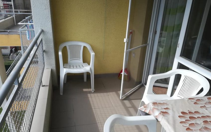 A fully furnished studio apartment on the 4th floor with lift