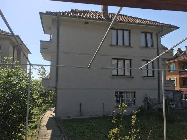 A large three storey semi-detached house at Aheloy