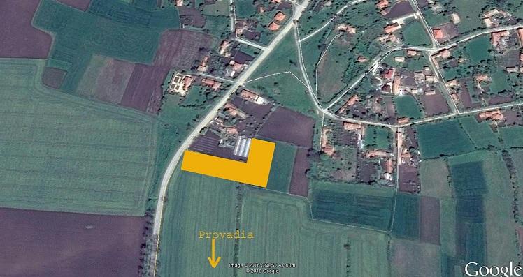 Five adjoining building plots close to Varna