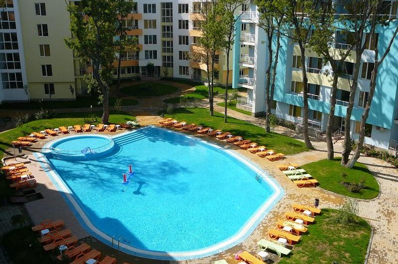 Fully furnished apartment for sale in YASSEN Apart Hotel, just 50m to the beach