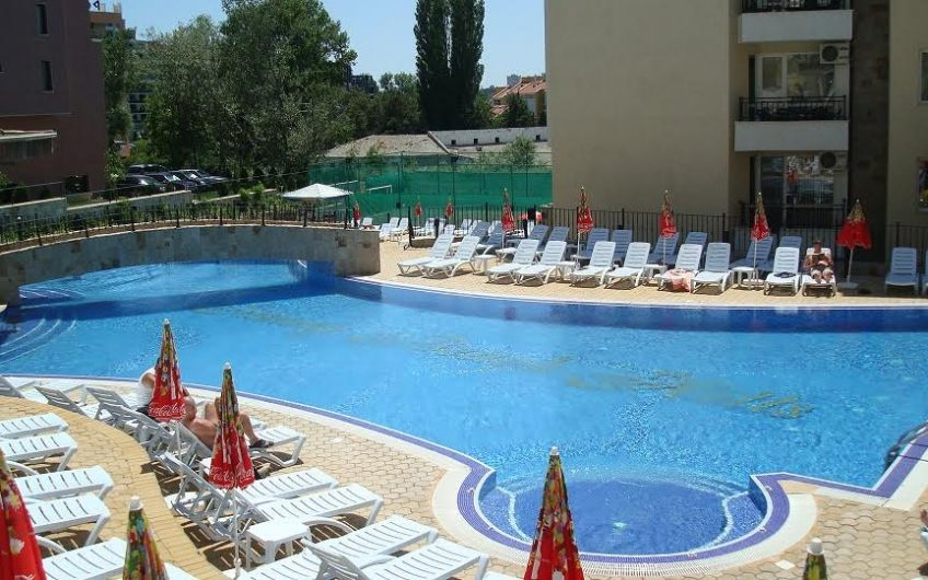 Fully furnished one-bedroom apartment for sale in SUNNY BEACH HILLS complex