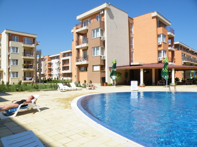 Holiday Fort Golf Club, Sunny Beach, Part Furnished Studio