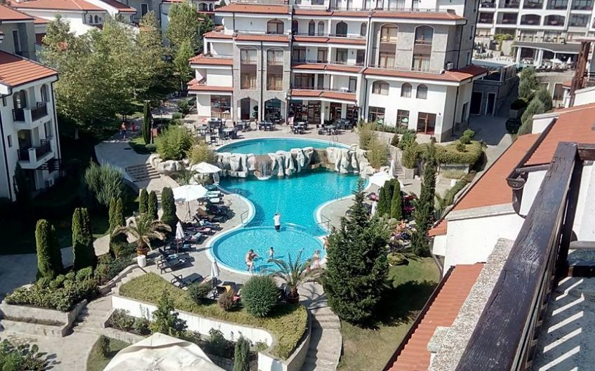 One bed furnished apartment with balcony, Must be seen