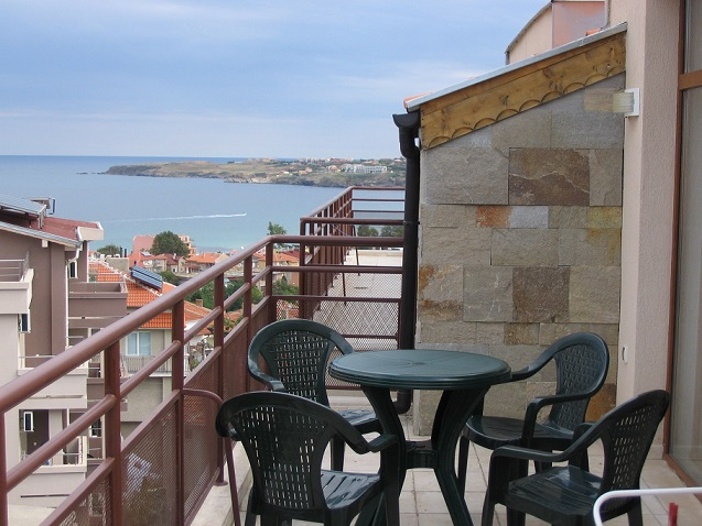 Sozopol, 2 bed fully furnished apartment with sea views