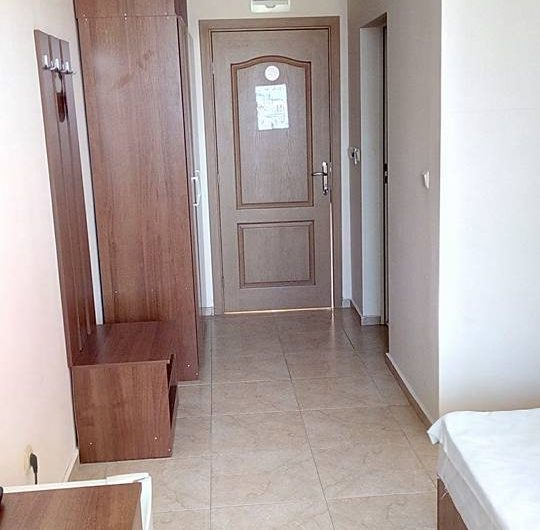 Studio apartment, Furnished,Balcony & only 200 m to the beach
