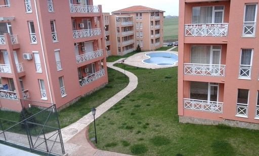 Sunny Day 6, Sunny Beach. Large 2 bed unfurnished apartment