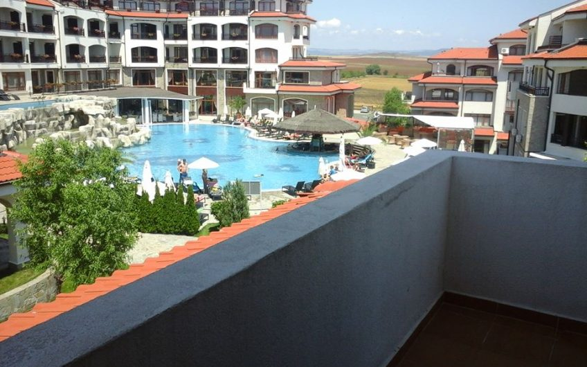 The Vineyards Spa Resort , Aheloy. Wonderful 2 Bed ,Fully Furnished Apartment with main pool view