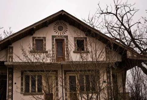 Two-storey house for sale near to Elhovo. Some work required, Huge land plot of 8,000 Sq M