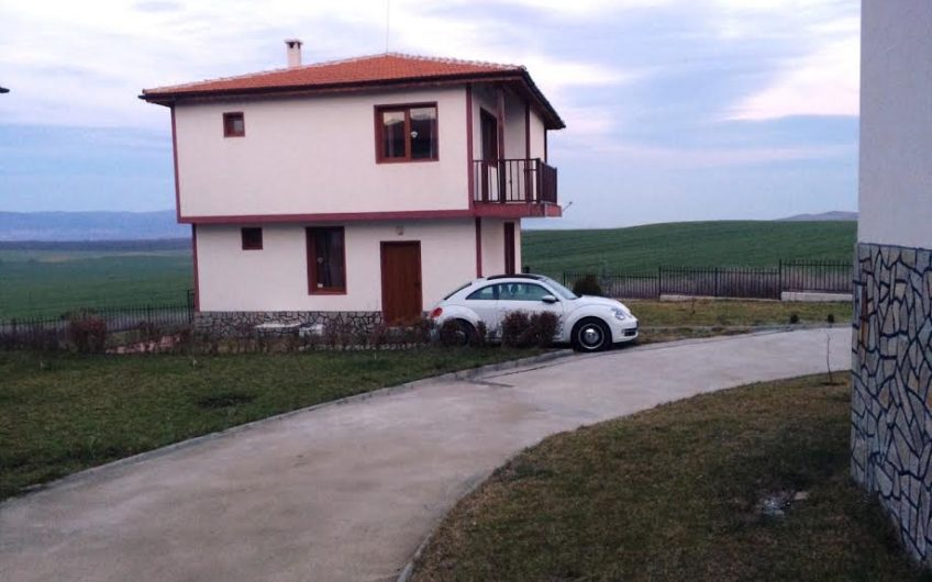 Two-storey newly built house for sale in the village of Alexandrovo, just 12 km away from the best Bulgarian sea resort- Sunny Beach