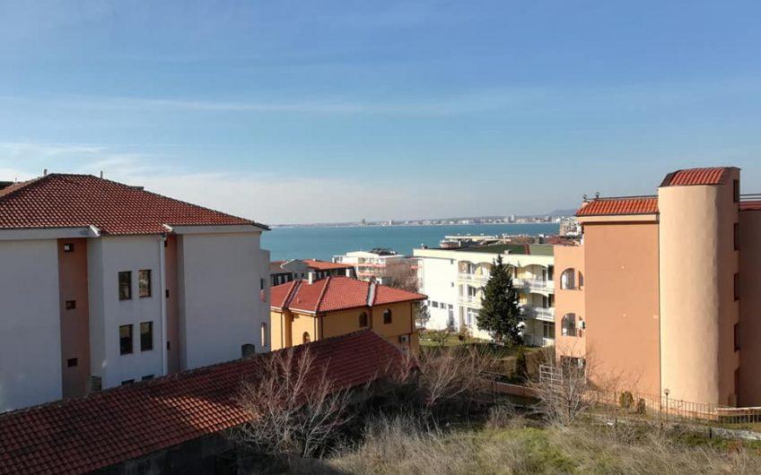 Villa Monaco, St Vlas. A 1 bed furnished apartment, Balcony & sea views