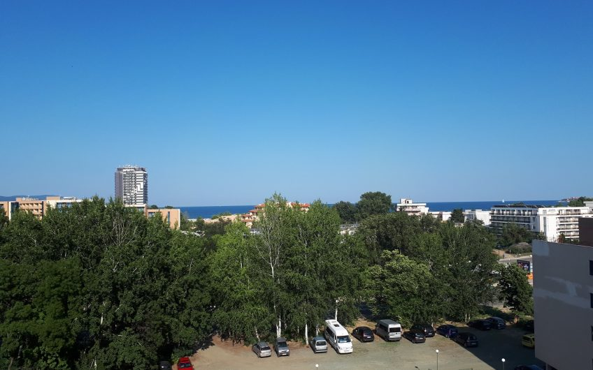one-bed duplex in Globul ville complex with sea views