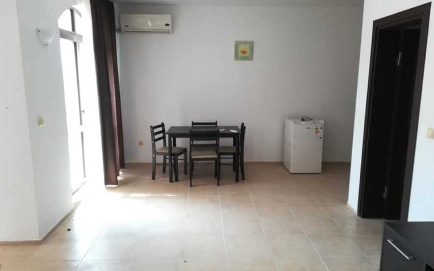 A 2 bed fully furnished apartment at Nessebar View complex at Kosharitsa. Ground floor with with pool views.