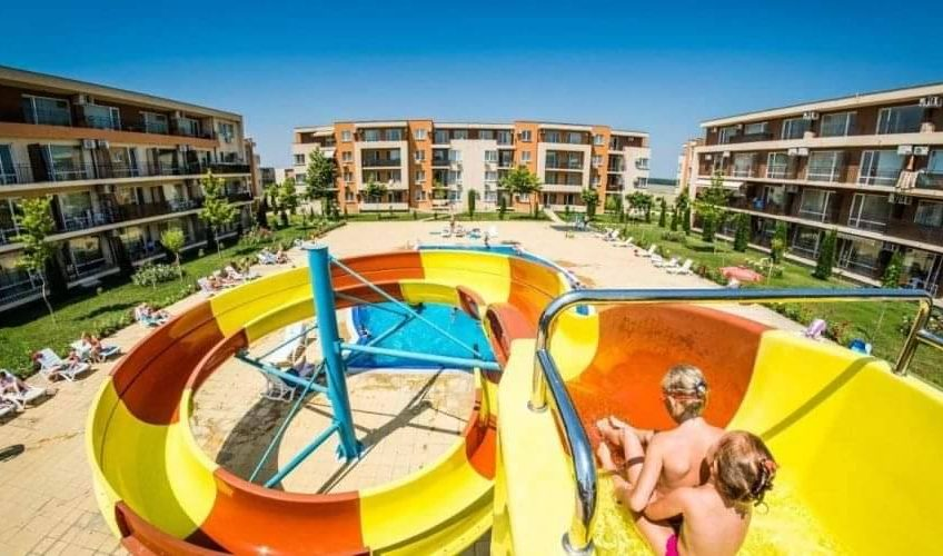 A 2 bed 2 bathroom apartment at Nessebar Fort Club.