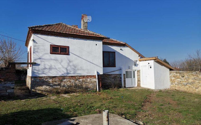 Lovely 3-bedroom detached house for sale near Karnobat in Iskra village