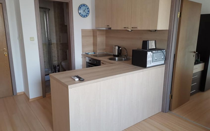 A 1 bed fully furnished apartment at Sunny Day 6 with balcony. Payment plan available