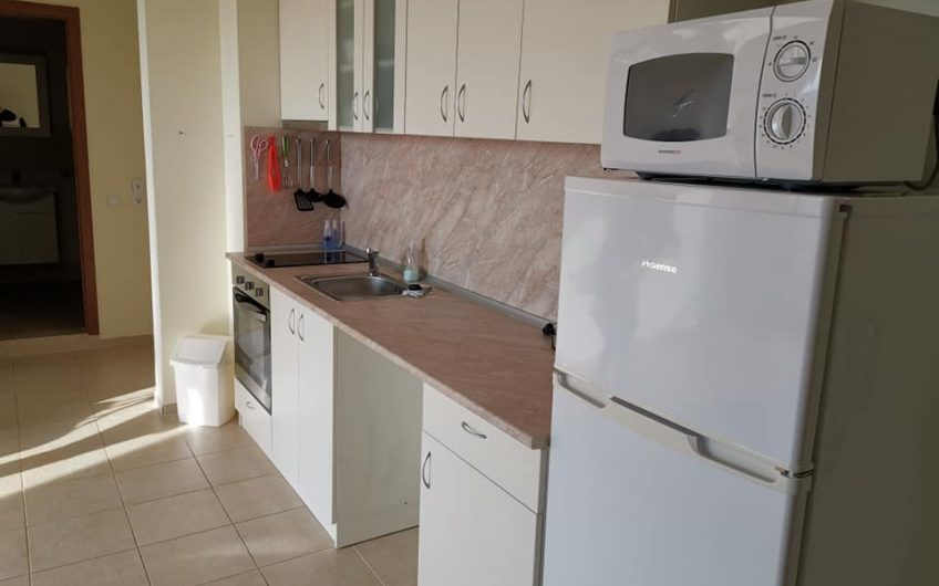 A 2 bed part furnished ground floor apartment with sun terrace at Orchid Fort Noks, Sunny Beach.