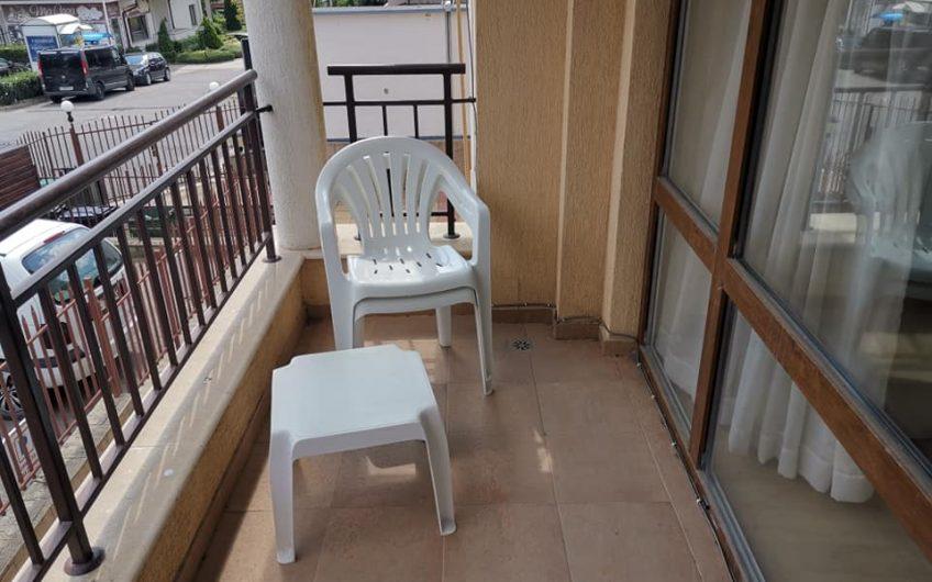 Aqua Dreams Sveti Vlas. A 1st floor fully furnished studio apartment with balcony.