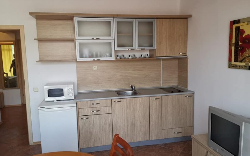 A 2 bed fully furnished ground floor apartment at complex Grand Kamelia , Sunny Beach.