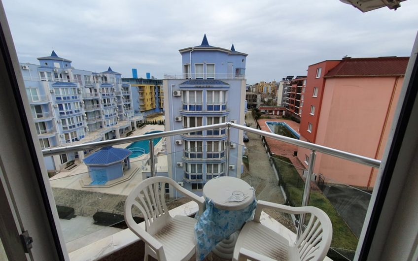 Furnished 1 bedroom apartment in Rose Garden, Sunny Beach.
