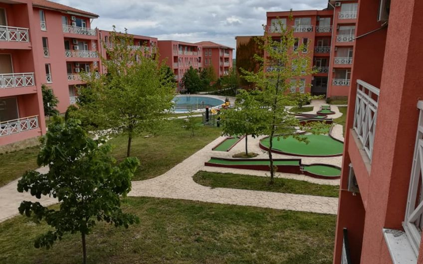 Sunny Day 6, A 1 bed fully furnished ground floor apartment, Pool view & large balcony.