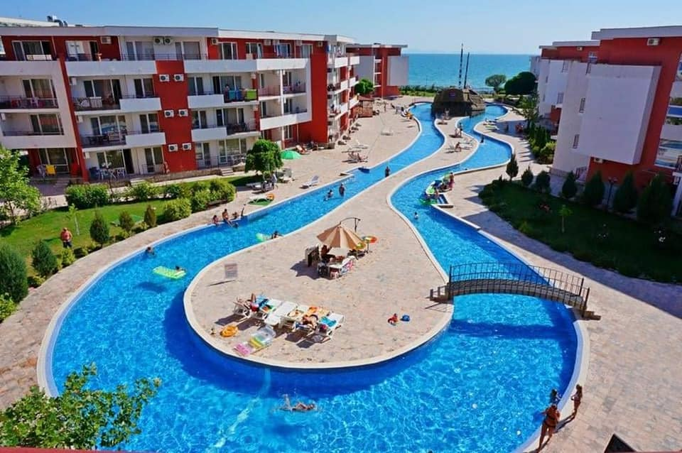 A huge 2 bed 2 bathroom apartment at Privilege Fort Beach, Elenite