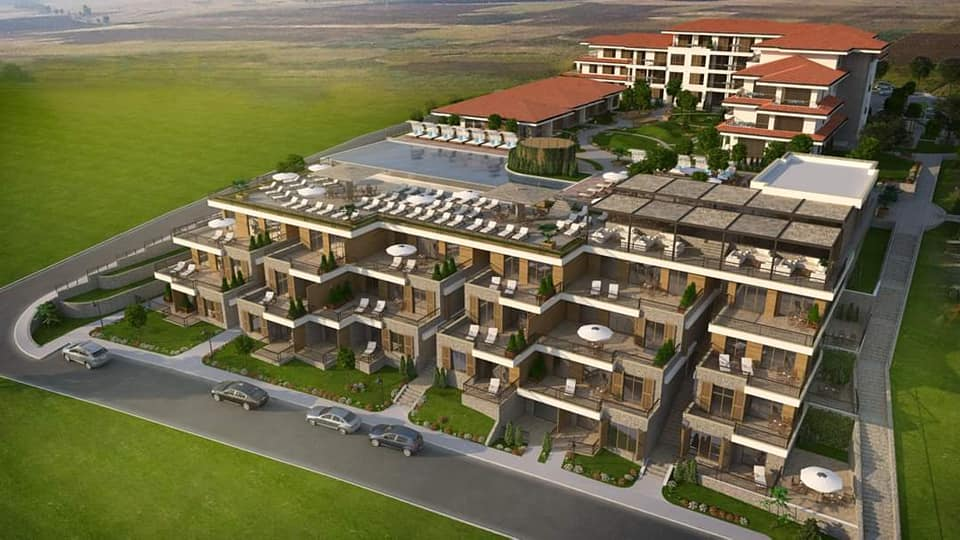 Luxury apartments at the prestigious complex 'Vineyards Panorama'
