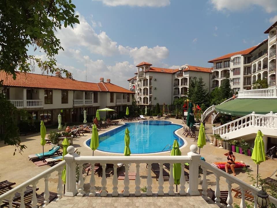 A studio apartment at the triumph holiday village, Devini resort Sveti vlas.