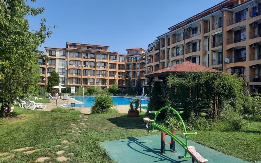A ground floor fully furnished studio apartment at Chateua Aheloy