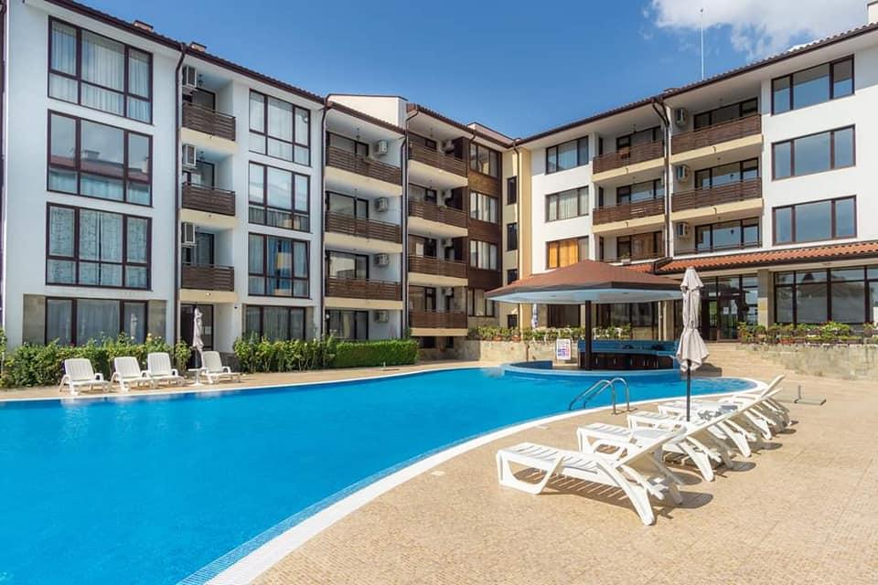 Viyana resort, Nessebar,A 1 bed fully furnished 1st floor apartment.